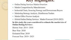 Global Online Dating Services Market Size, Status And Forecast 2018-2025