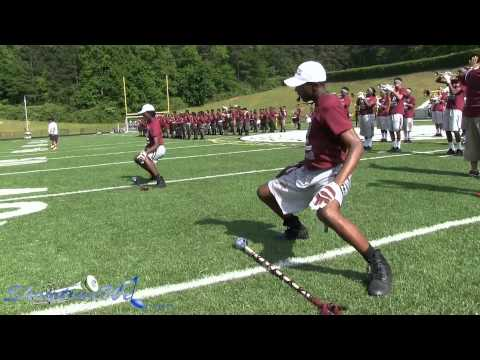 Towers High band routine -