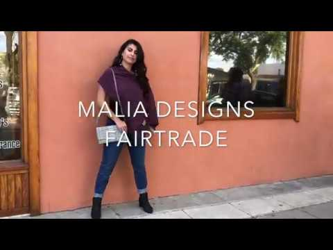 New Fair Trade Fashion from Malia Designs #carryacause
