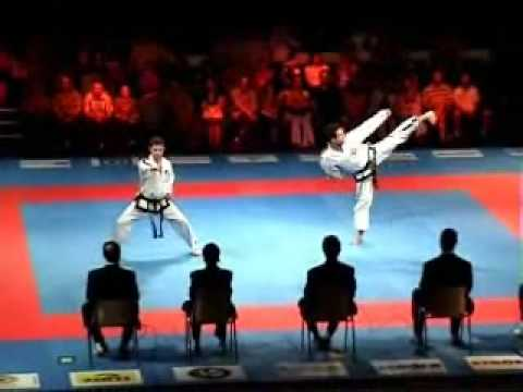 Taekwon-Do itf Patterns 4th - 6th degree final european championship Wroclaw 2008