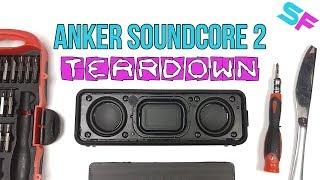 Anker SoundCore 2 Teardown & Disassembly - Look what's inside