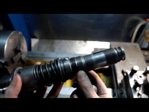 Легкий ремонт перфоратора ствола