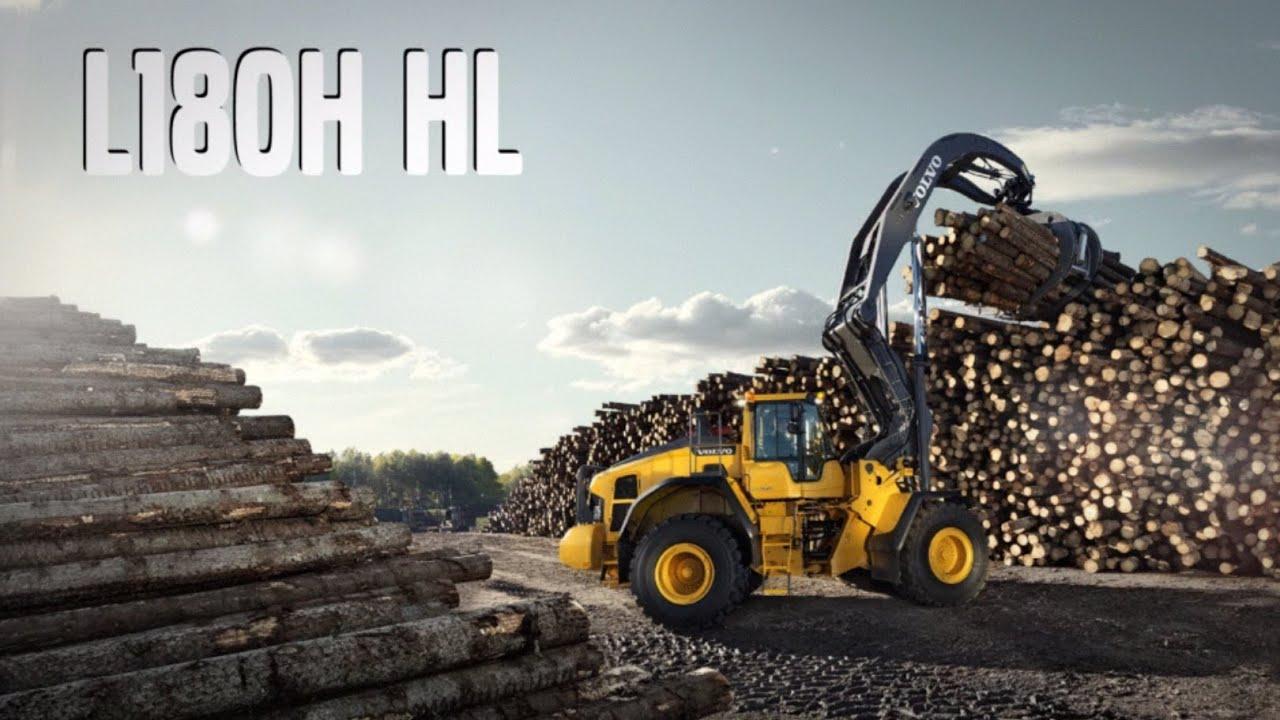 Höglyft Volvo L180HHL High Lift hjullastare - lanseringsfilm - YouTube