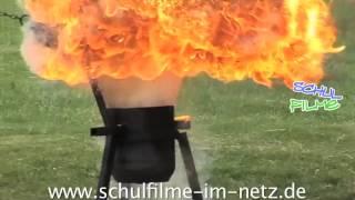 Brandbekämpfung - Schulfilm Chemie