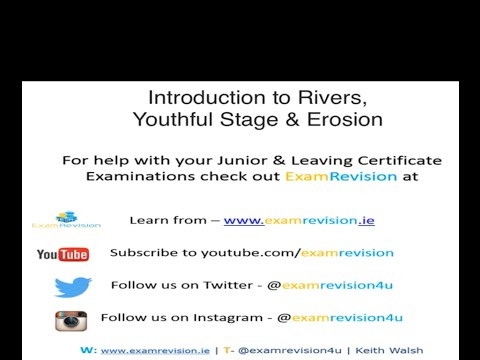 Junior Cert Geography - Erosion & Youthful Stage