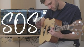 Avicii - SOS ft. Aloe Blacc (Acoustic Cover By Ben Woodward)