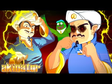 AKINATOR CAN READ YOUR MIND! || Akinator #1