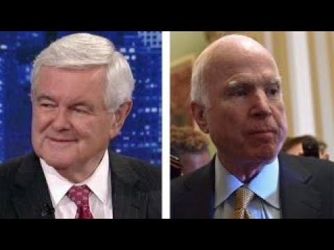 Gingrich on whether or not McCain will support tax bill