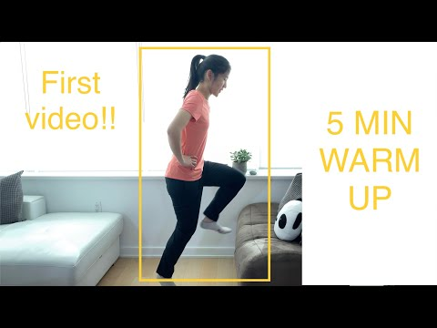 5 Minute Fitness Warm Up!!! - Hunny Get Fit