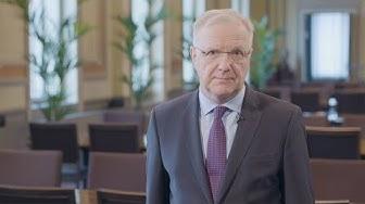 Suomen Pankin vuosi 2019, pääjohtaja Olli Rehn