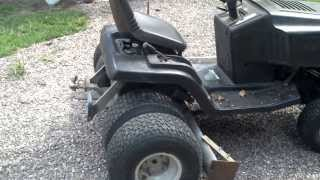ultimate lawn tractor-DUALLY!! Homemade box type scrape blade