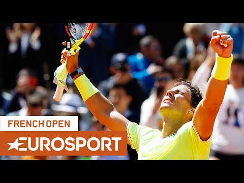Rafael Nadal Vs Roger Federer Highlights | Roland Garros 2019 Semi-Final | Eurosport