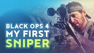 DAKOTAZ TRIES BLACK OPS 4 - MY FIRST SNIPER!! (Call of Duty: Black Ops 4 Blackout)