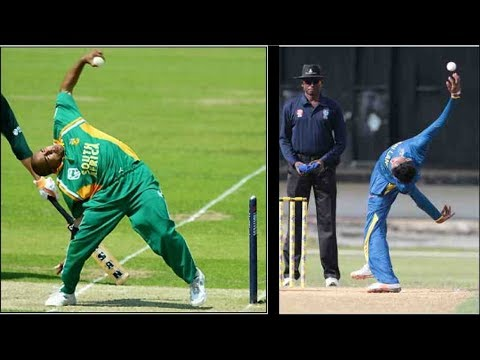 Weird bowling Action| Unorthodox spinner Kevin Koththigoda | Paul Adams like Action