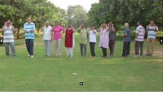 Seniors jiving to the hit song #KalaChashma... from the movide #BaarBaarDekho.