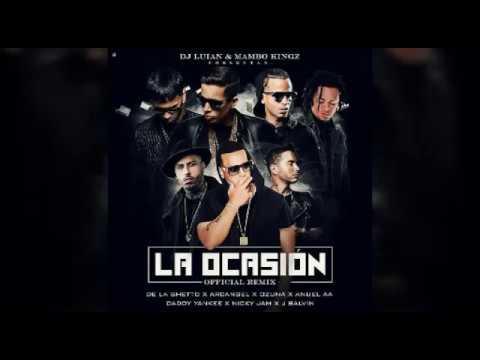 Download La Ocasin   Anuel AA Ft Daddy Yankee Nicky Jam J Balvin De La Ghetto Arcangel Ozuna Previewdescargar