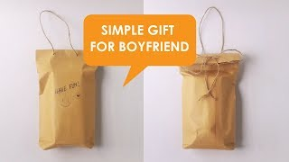 Simple Gift For Boyfriend