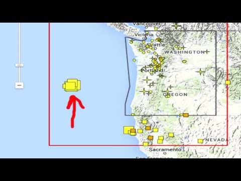 Offshore Volcano Western United States Eruption Possible