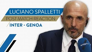 "INTER 5-0 GENOA | Luciano Spalletti Interview: ""It's great to see our fans happy"""