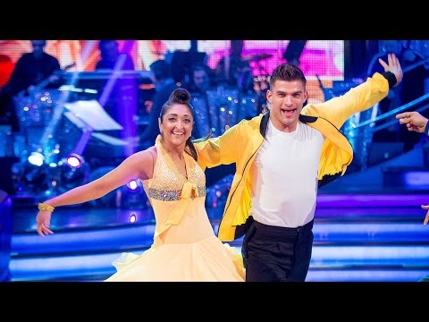 Trishna & Aljaz Jive to 'Runaround Sue' - The People's Strictly: 2015 - BBC One