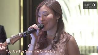 Neo Music Production -  Hong Kong Wedding Live Music Pop Vocalist