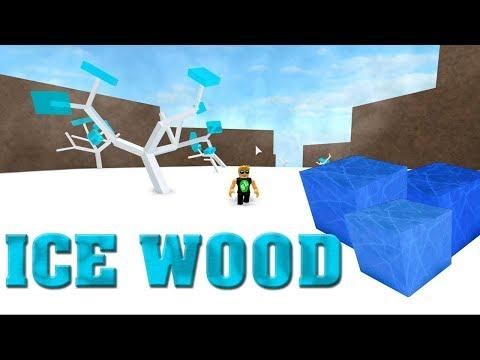 Roblox Lumber Tycoon 2 - ICE WOOD - ICE TREES - YouTube