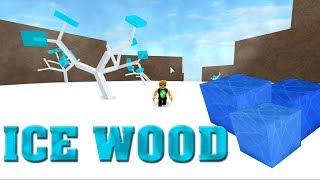 Roblox Lumber Tycoon 2 - ICE WOOD - ICE TREES
