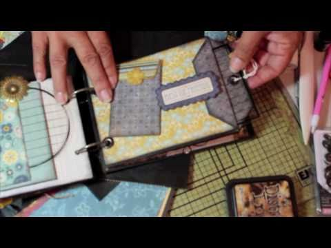 Scrapbooking How To Make A Simple Paper Bag Envelope Pocket Mini
