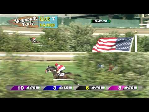 video thumbnail for MONMOUTH PARK 09-06-20 RACE 7