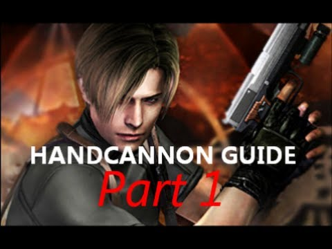 RE4 The Mercenaries - HANDCANNON GUIDE - Part 1 (Leon Village)