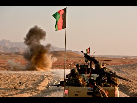 Afghan forces, with NATO bombs, attack resurgent Taliban in Musa Qala. Helmand