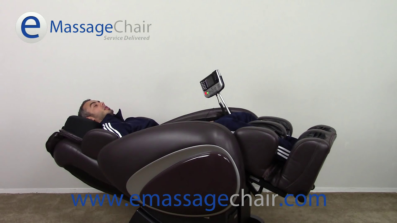 osaki os-4000 massage chair video - zero gravity - youtube