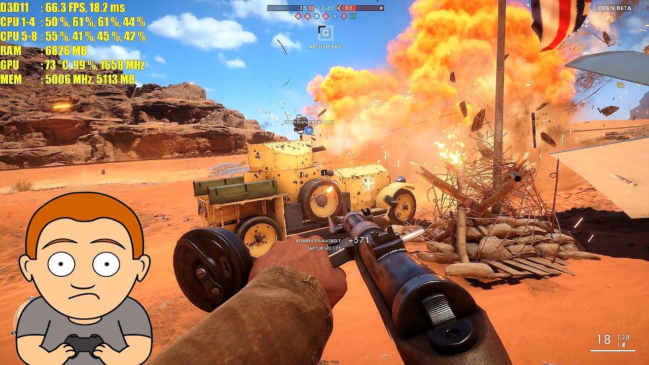 Battlefield 1 4k Ultra Tapeta Hd: Battlefield 1 Beta 4K Titan X Pascal Ultra Settings Frame