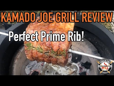 2019 Kamado Joe Review: PERFECT PRIME RIB