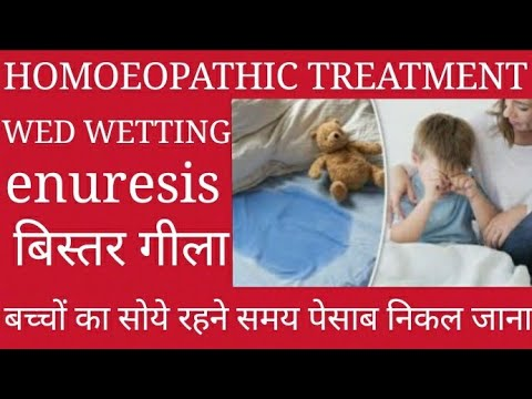 Bed wetting Homoeopathic treatment