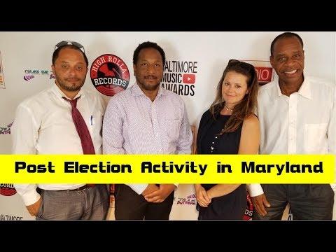 Post Election Activity in Maryland PT2  | City Media Radio
