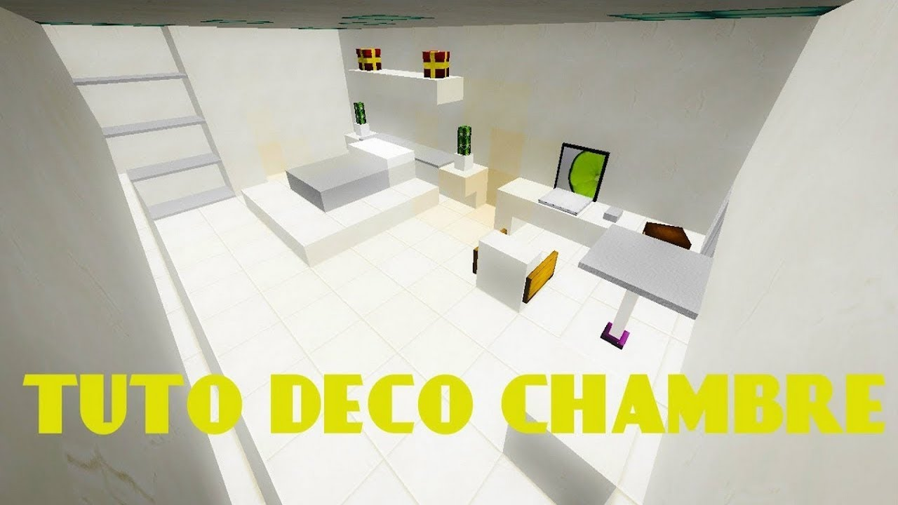 Best Comment Faire Une Chambre Moderne Minecraft Ideas - House ...