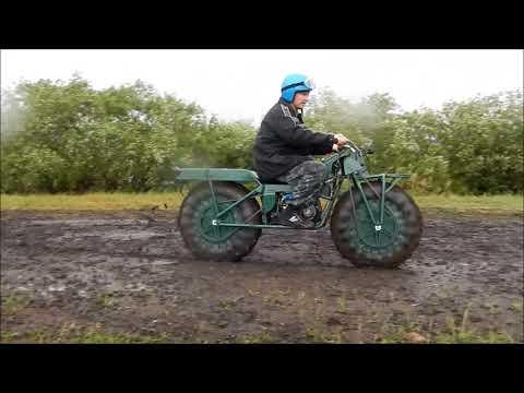 Сибирь 2х2 по грязи