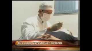 TV Alterosa   Pesquisa  do Dr. Nichson (Varginha) mostra que água usada por dentistas é imprópria