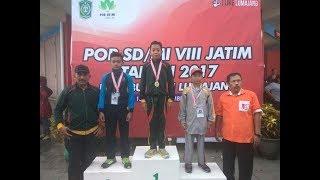 Detik-detik Perenang Junior Pacitan Rebut Medali Emas di POR SD/MI 2017