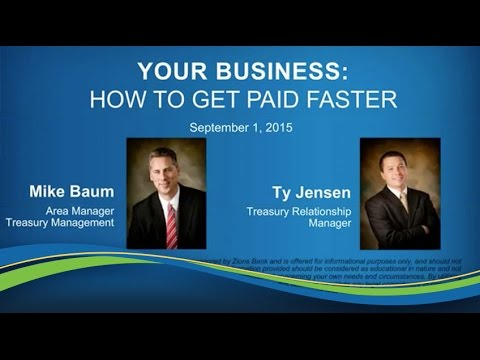 Your Business: How To Get Paid Faster [Webinar]