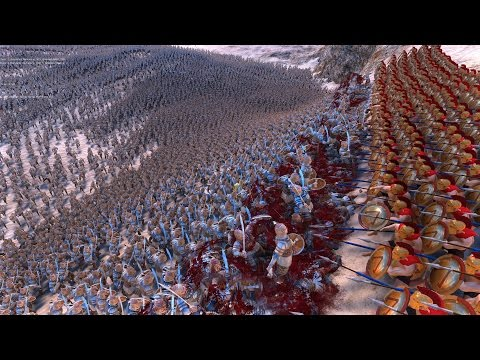 300 SPARTANS vs 20.000 PERSIANS - Ultimate Epic Battle Simulator