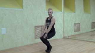 2 Online урок - Приседания - базовые упражнения по направлению High Heels Strip Plastic.