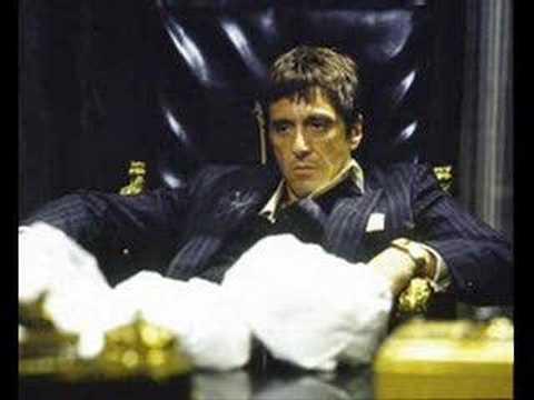 tony montana scarface ... Al Pacino Speech