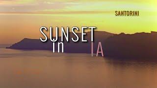 Destination Santorini,Greece.Sunset in Ia ultra HD!