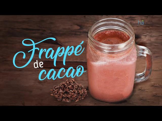 Frappé de cacao natural