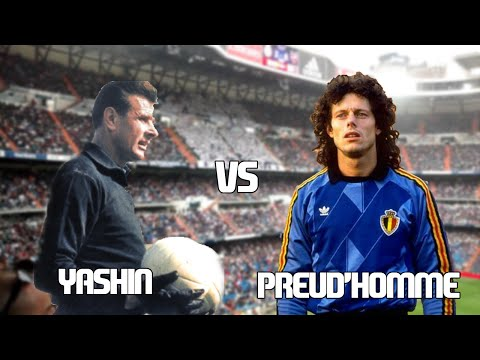 Lev YASHIN vs Michel PREUD'HOMME//Duelo de Leyendas/Highlights HD