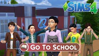 пора В Школу! - Новый мод The Sims 4