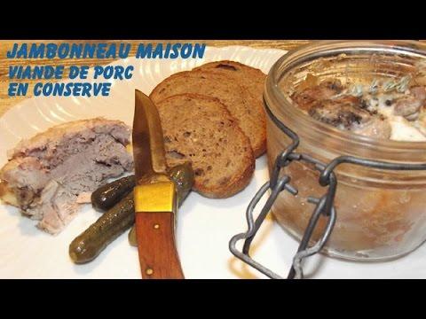jambonneau maison conserve de viande de porc