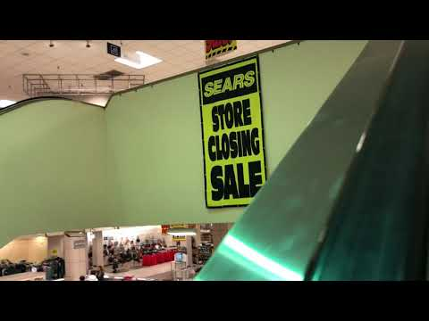 Sears Closing in Federal Way, Wa (1 minute vlogs #74)